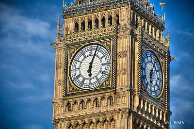 Photograph - Big Big Ben by Walt  Baker