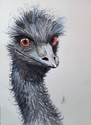Painting - Big Bird by Anne Gardner