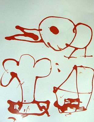Big Bird Art Print by Nanak Chadha