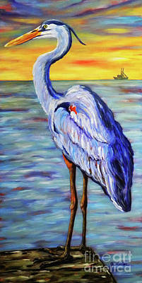 Painting - Big Blue by JoAnn Wheeler