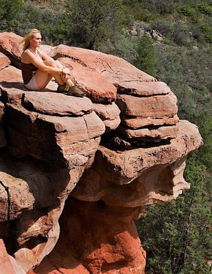Photograph - Big Boulder by Joel Gilgoff