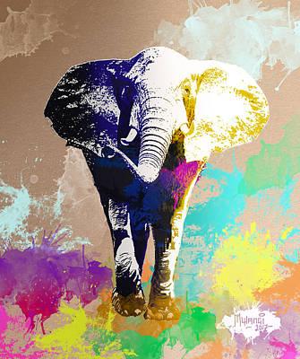 Painting - Big Boy by Anthony Mwangi