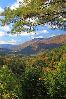 Vermont Wilderness Photograph - Big Branch Wilderness Green Mountains Vermont by John Burk