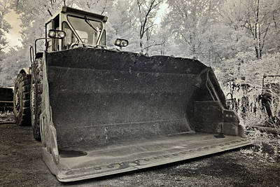 Photograph - Big Bucket Front End Loader by Luke Moore