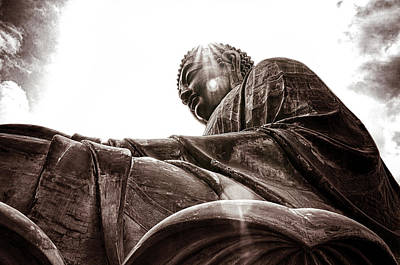 Digital Art - Big Buddha by Kevin McClish