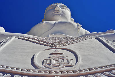 Photograph - Big Buddha by Lee Webb
