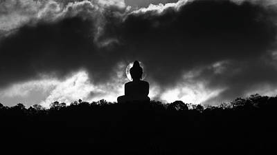 Big Buddha On Hill Original