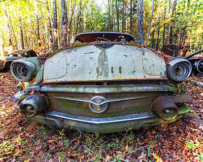 Photograph - Big Buick by Alan Raasch