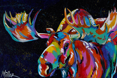 Painting - Big Bullwinkle by Tracy Miller