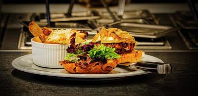 Photograph - Big Burger by David Kay