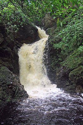 Photograph - Big Burn Waterfall by Tony Murtagh