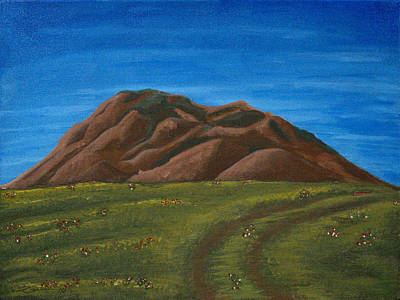 Painting - Big Butte by Art By Ryker