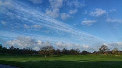 Photograph - Big Cheshire Sky by Jeremy Hayden