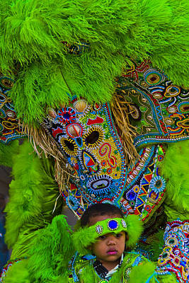Cookbook Photograph - Big Chief Little Chief by Roy Guste