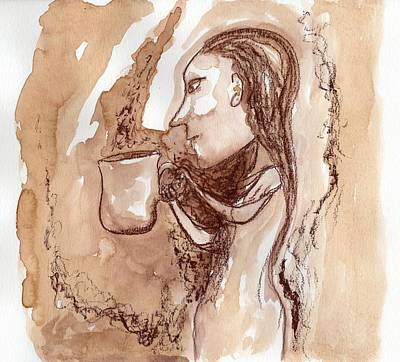 Painting - Big Coffee 2 by Jim Taylor