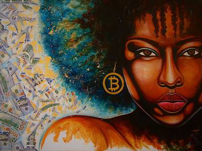 Painting - Big Coin by Emery Franklin