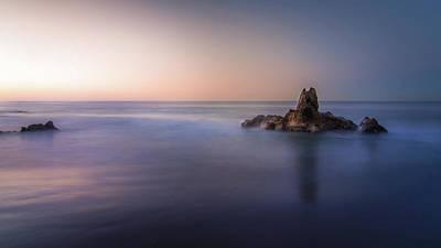 Corona Del Mar Photograph - Big Corona Rock by Ralph Vazquez
