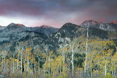 Big Cottonwood Canyon Sunrise Art Print by Dean Hueber