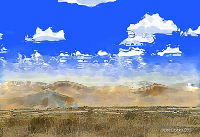 Digital Art - Big Country by Kerry Beverly