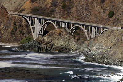 Photograph - big creek Bridge by Gary Brandes