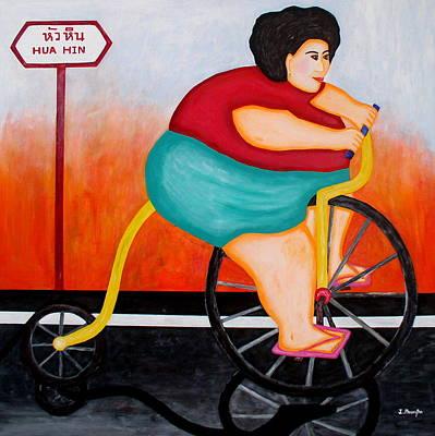 Big Cycle Lady Original