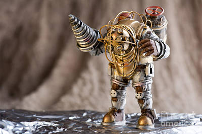 Single Edition Photograph - Big Daddy Bioshock Monster by Arletta Cwalina