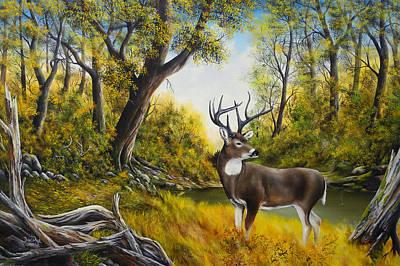 David Paul Painting - Big Daddy by David Paul