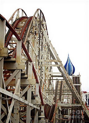 Photograph - Big Dipper Blackpool Pleasure Beach by Doc Braham
