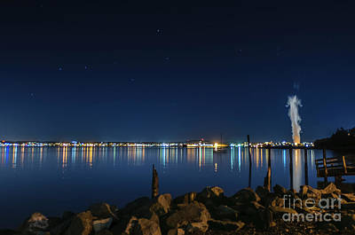 Photograph - Big Dipper Over Bellingham Bay by Paul Conrad