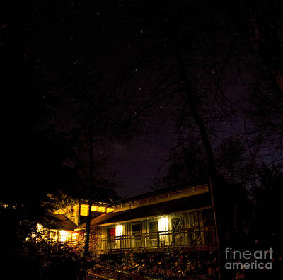 Photograph - Big Dipper Over Hike Inn by Barbara Bowen