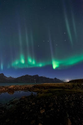 Curtains Photograph - Big Dipper by Tor-Ivar Naess