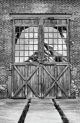 Photograph - Big Doors  by Wilma Birdwell