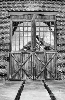 Photograph - Big Doors  by Wilma Birdwell