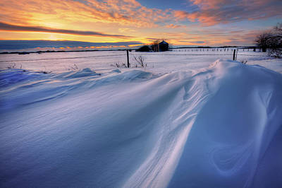 Snow Drifts Photograph - Big Drifts by Dan Jurak