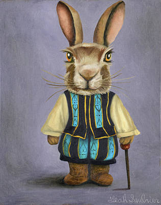 Painting - Big Ears 2 by Leah Saulnier The Painting Maniac