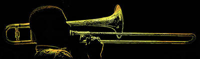 Music Royalty-Free and Rights-Managed Images - Big Easy Jazz 2 by Jeff Watts