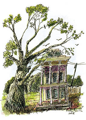 Painting - Big Easy Living by Barry Jones