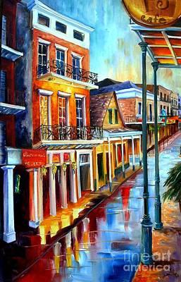 Big Easy Rain Art Print by Diane Millsap