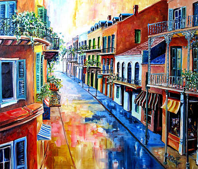 French Quarter Painting - Big Easy Sunshine by Diane Millsap