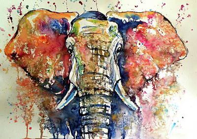 Big Elephant Art Print