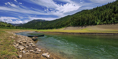 Forest Photograph - Big Elk Creek by Chad Dutson