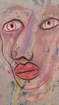 Robert Daniels Painting - Big Eyes by Robert Daniels