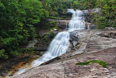 Photograph - Big Falls - From The Ledge by Chris Berrier