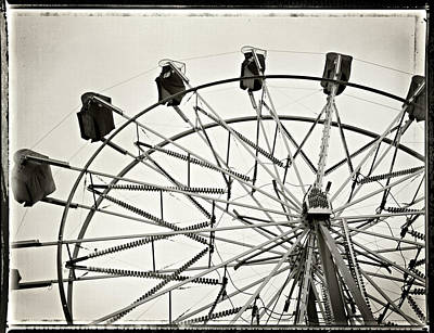 Photograph - Big Ferris by Bud Simpson