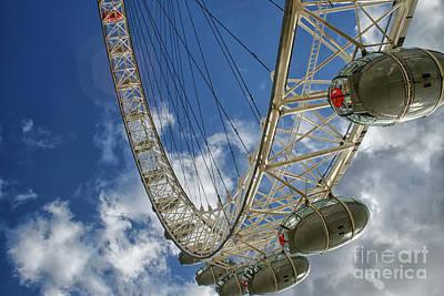 Photograph - Big Ferris Wheel by Patricia Hofmeester