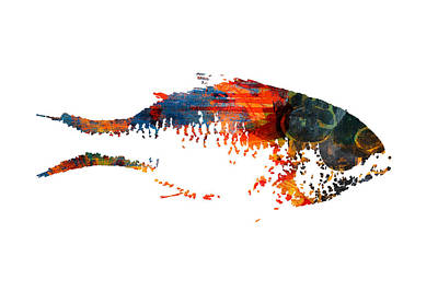 Digital Art - Big Fish by Nancy Merkle