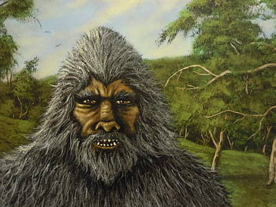 Painting - Big Foot In Pennsylvania by James Guentner