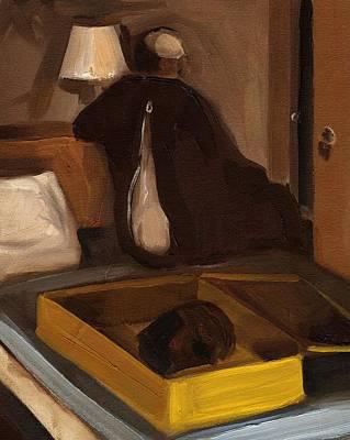 Painting - Big Foot Art Print. by Tommervik