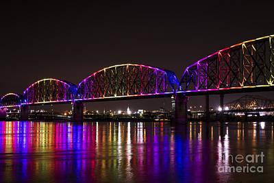 Photograph - Big Four Bridge 2214 by Andrea Silies