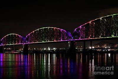 Photograph - Big Four Bridge 2219 by Andrea Silies